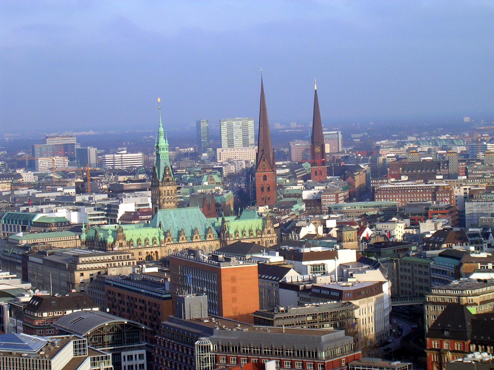 Hamburg von oben!